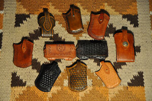 Leather cellphone cases