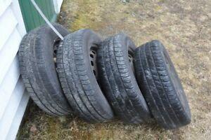"Honda Civic Tires on Rims - 14"""