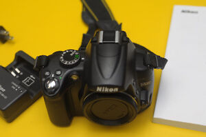 Nikon D5000 DSLR body only ** no lens included **