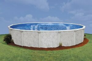 18 FT ROUND X 52 HIGH DOUGHBOY STERLING POOL