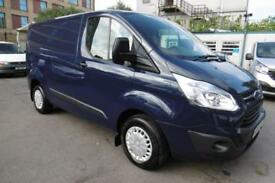 2014 FORD TRANSIT CUSTOM 270/125 TREND L1H1 SWB IN BLAZER BLUE WITH ONLY 53.000