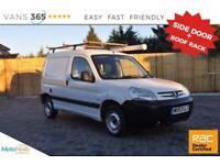 Peugeot Partner NO VAT VERY CLEAN VAN SIDE DOOR ROOFRACK PIPE HOLDER LX 600 D