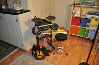 wii guitar hero ....Ilive karaoke machine....wii disney singit
