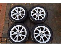 "Audi 18"" winter tyres & wheels"