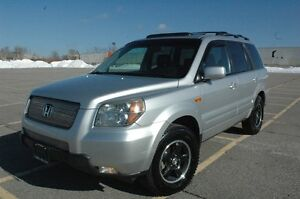 2006 HONDA PILOT EX-L AWD LEATHER/SUNROOF/DVD NO ACCIDENT