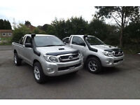 2009 Toyota Hilux 2.5 D-4D HL2 SINGLE CAB PICK UP DIESEL 4X4 25K LOW MILES FSH