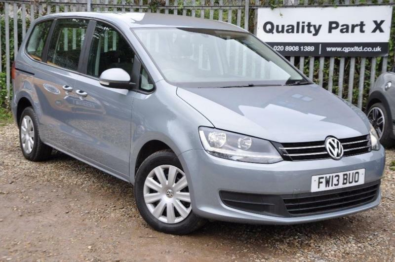 2013 Volkswagen Sharan 2.0 TD BlueMotion Tech S MPV DSG 5dr