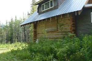 Land with cabin in Telegraph Creek,BC