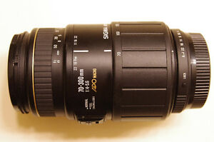 Sigma 70-300mm, Pentax full-frame compatible