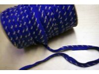 FLANGED PIPING CORD- 50 pence A METRE