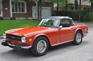 Voiture d'exception Triumph TR 6 1974 à vendre