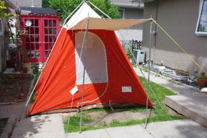 Unique retro canvas tent for sale.