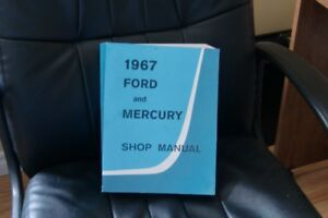 1967 Ford service manual