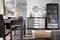 KASPIAN FURNITURE (with grey glossy fronts) - ON SALE!!!!!