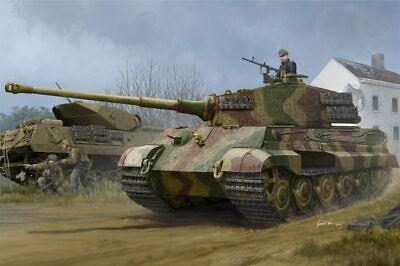 Hobbyboss 1/35th scale German King Tiger Henschel turret plastic model kit.