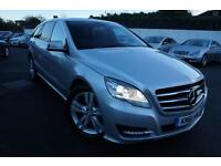 2011 MERCEDES R-CLASS R350 CDI 4MATIC 3.0 DIESEL AUTOMATIC 4X4 7 SEATER 5 DOOR E