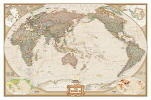 NEW Laminated Wall Maps - World - National Geographic National Geographic World