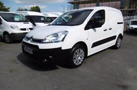 2013 CITROEN BERLINGO 625 ENTERPRISE L1 HDI DIESEL VAN IN WHITE WITH AIR CONDITI