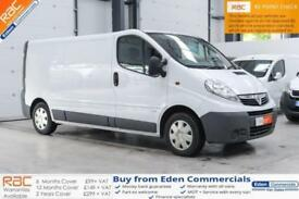 2013 13 VAUXHALL VIVARO TRAFIC 2.0 2900 CDTI 1D 115 LWB LONG WHEEL BASE VAN