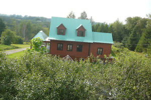 Terre vallonneuse de 67 acres et maison loin du chemin Saint-Hyacinthe Québec image 3