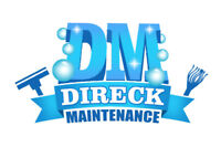 pro cleaning and maintenance Direck maintenance