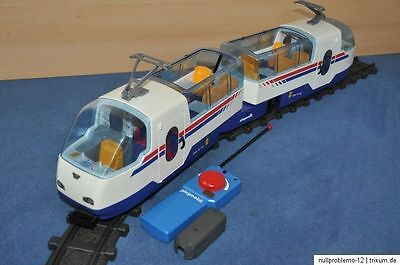 Playmobil Eisenbahn RCE / ICE aus dem Set 4016 für RC Train