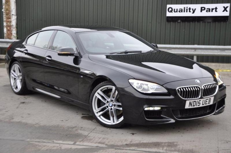 2015 BMW 6 Series Gran Coupe 30 640i