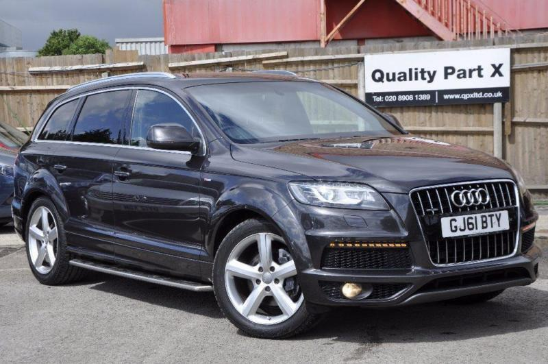 2012 audi q7 3 0 tdi s line tiptronic quattro 5dr in. Black Bedroom Furniture Sets. Home Design Ideas