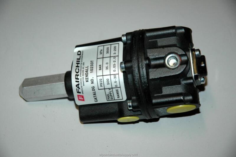Fairchild Precision Tamper Proof Pressure Regulator 10233T 0.5-30 PSIG - NOS