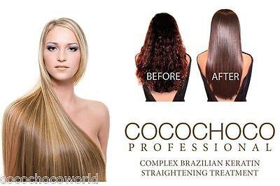 COCOCHOCO Pure Brazilian Blow Dry Hair Keratin Straightening Treatment 50ml KIT