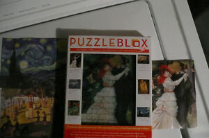 Puzzle Blox 6-sided fine art puzzle Kitchener / Waterloo Kitchener Area image 2