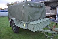 Military 1997 DEW ENG LTD CDN1-SMP Cargo trailer