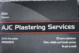 AJC plastering services
