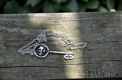 Once Upon A Time Evil Queen Regina Skeleton Key Necklace OUAT Necklace US - Evil Queen Ouat
