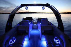Electric Pontoon Boat