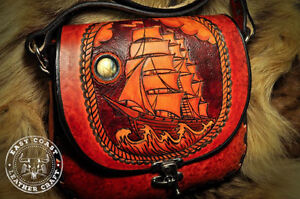 Hand Crafted Leather Work - East Coast Leather Craft