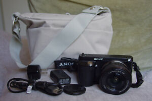 SONY NEX-F3 With Compact PZ 16-50mm OSS Lens