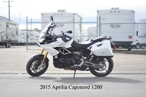 2015 Aprilia Caponord 1200 ABS Travel Pack - ONLY 5000 km!!