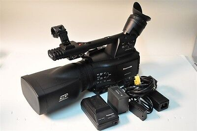 Panasonic AG-3DA1  3D Camcorder  with all accessories and many unique extras