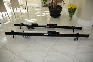 Thule Roof Rack with Thule Bike Carrier