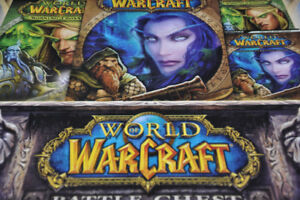 Coffret Jeu PC CD ordinateur game Warcraft médiéval fantastique