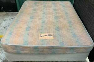 Good Sealy Brand wide double bed base with mattress for sale