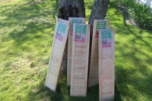 Several pairs of New Shutters--Pine--Never Used!