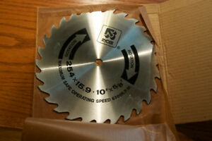 "10"" Ryobi Saw Blade for Table Saw or Radial Arm Saw (New)"