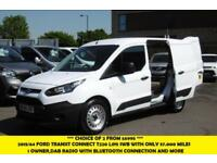 2014 FORD TRANSIT CONNECT 220 L1H1 SWB DIESEL VAN IN WHITE WITH ONLY 57.000 MILE