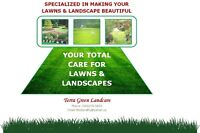Your Complete Land Care Team -- From The Ground Up