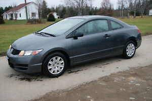 2010 HONDA CIVIC MANUEL COUPE LOADED SO NICE