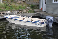 14' McKee Craft Boston Whaler tri-hull