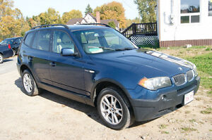 2005 BMW X3  AWD LOADED SUV, Crossover
