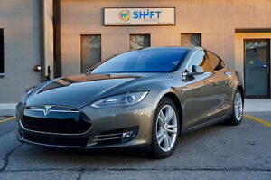 2015 Tesla Model S 90D AUTOPILOT, PREMIUM UPGRADES, PANO ROOF